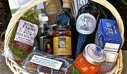 Wailea Wine gift baskets